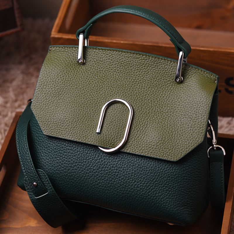 ФОТО SMINICA Brand Hot Sale Real Leather Bags Fashion Small Handbags Shoulder Bag High Quality Cow leather Women's Messenger Bags