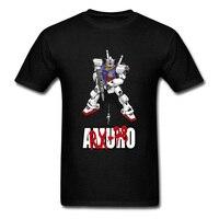 Newtype GUNDAM camiseta Japón Anime Hip Hop algodón máquina Robot ropa negro camisetas
