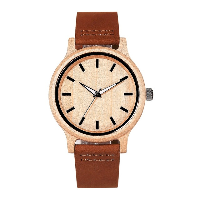 Japanese Miyota 2035 Movement Wristwatches Genuine Leather Bamboo Wooden Watches For Men And Women Gifts Relogio Masculino сумка дорожная burton wheelie dbl deck hawaiian heather