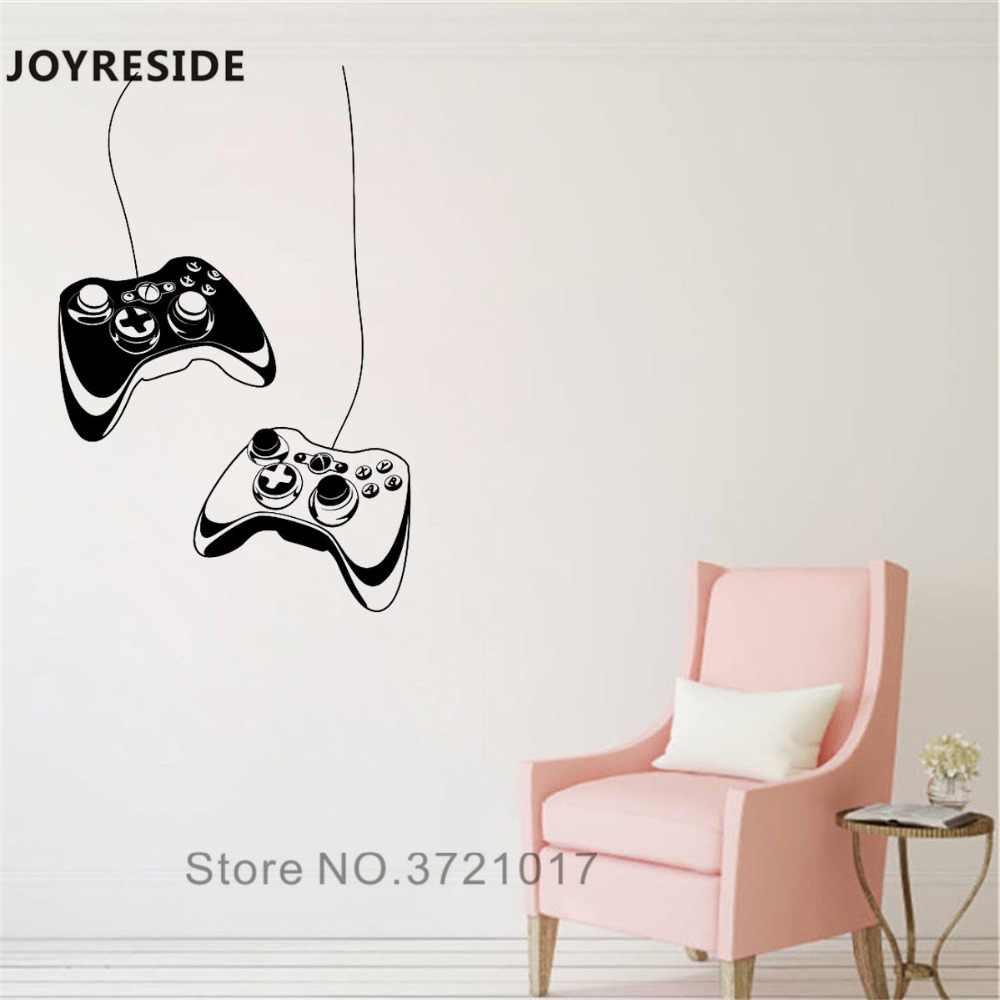 82c11be3d1 ... JOYRESIDE Game Gamer Wall Decal Video Games Wall Sticker Cool Art Vinyl  Decor Home Kids Boys ...