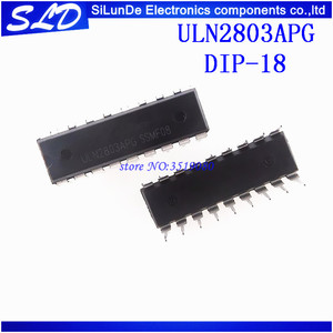 Image 1 - ULN2803 ULN2803A ULN2803APG 2803 DIP18 100 pçs/lote Frete Grátis