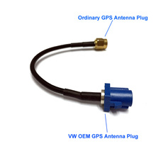 High quality GPS antenna Fakra Adapter Shark Buchse for VW Seat Skoda for Car DVD Player hot selling