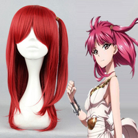 Anime Magi The Labyrinth Of Magic Cosplay Wig Morgiana Cosplay Wigs Heat Resistant Synthetic Halloween Carnival Party Women Hiar