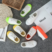 2019 Canvas Children Shoes Sport Breathable Boys Sneakers Brand Kids Shoes for Girls Jeans Denim Casual Child Flat Canvas Shoes цены онлайн