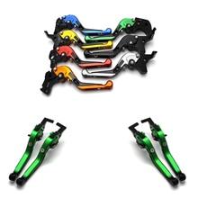 цена на for KTM duke 125 duke 390 duke 200 duke 390 990 CNC Motorcycle Adjustable Brake Clutch Levers Foldable Extending with logo
