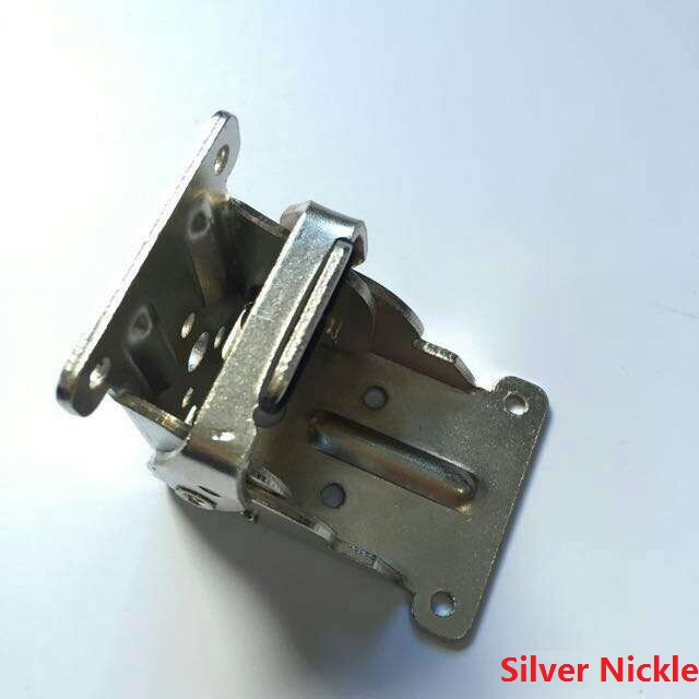 2pcs Lot 90 Degrees Locking Folding Hinge Hinges With Screws For Bed