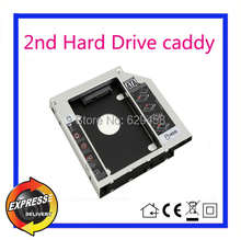 2nd SATA HDD Hard Disk Drive caddy Adapter for HP ProBook 440 G1 455 470 G0 / G1 dvd Free Shipping