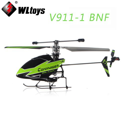 WLtoys V911-1 2.4 Г 4CH Вертолет Нового Зажигания Зеленый БНФ