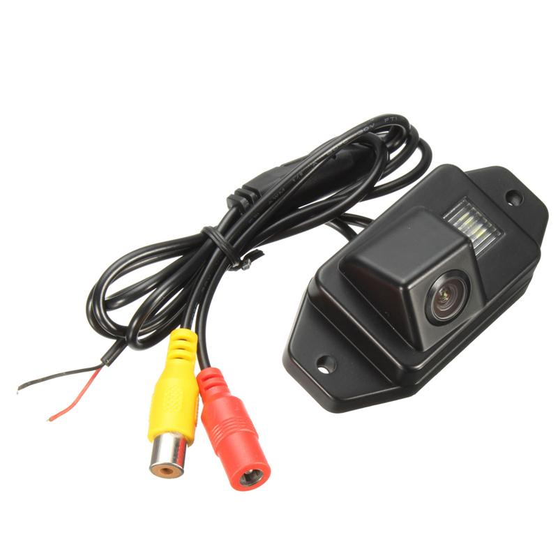 CCD HD Car Rear View Camera Reverse Rearview Camera For Toyota Prado Land Cruiser 170 Degrees