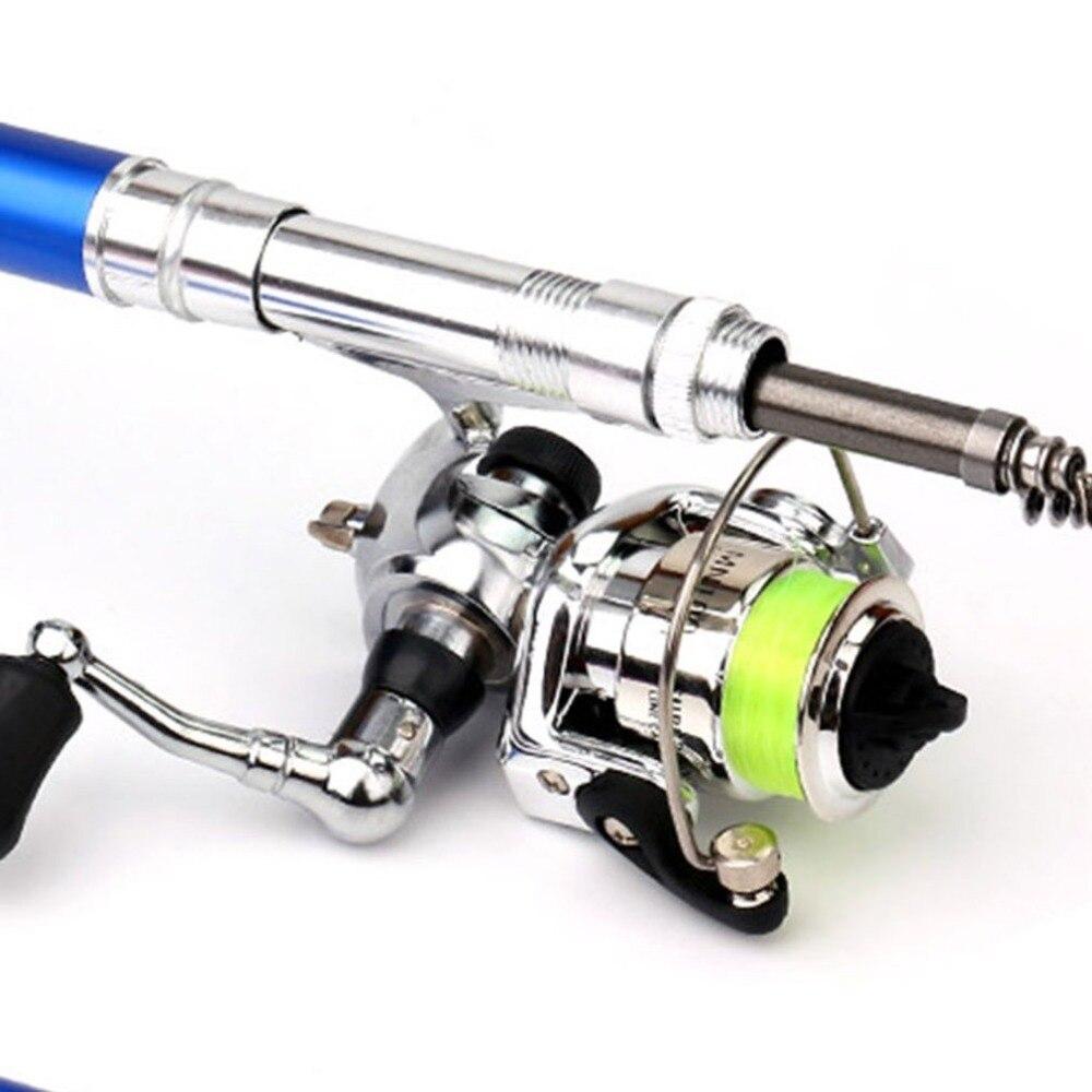 Mini portátil tipo caneta vara de pesca