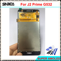 Sinbeda Super AMOLED HD 5 0 LCD For Samsung Galaxy J2 Prime G532 G532L G532F G532K