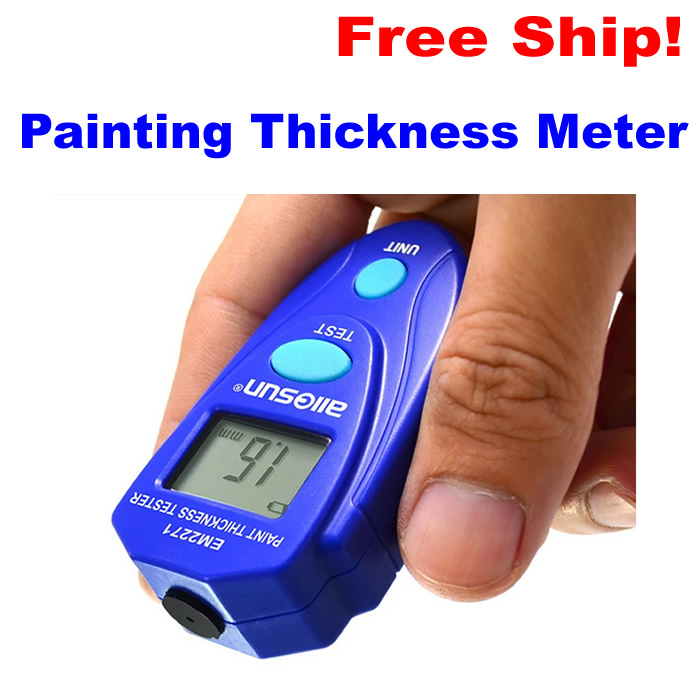 M2271 Digital LCD Coating Thickness Gauge Car Painting Thickness Tester  Paint Thickness Meter DIY Instrument 0