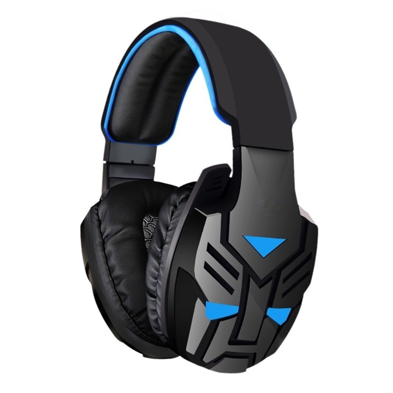 GDLYL Adjustable 3.5mm Sport Headphone Game Gaming Headphones Headset Low Bass Stereo With Mic Wired For PC Laptop Computer