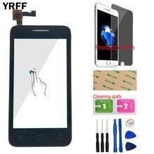 YRFF dokunmatik ekran dokunmatik ekran Alcatel one Touch için U3 4049D 4049 OT4049D OT 4049D 4049 dokunmatik ekran Digitizer sensörü paneli hediye