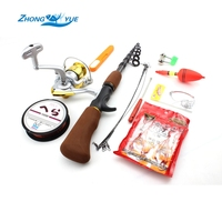 NEW 1.6M Fishing Rod and Reel lot Lure Fishing line spinning reel Fish Tackle Rods Carbon Ocean Rock Free shipping