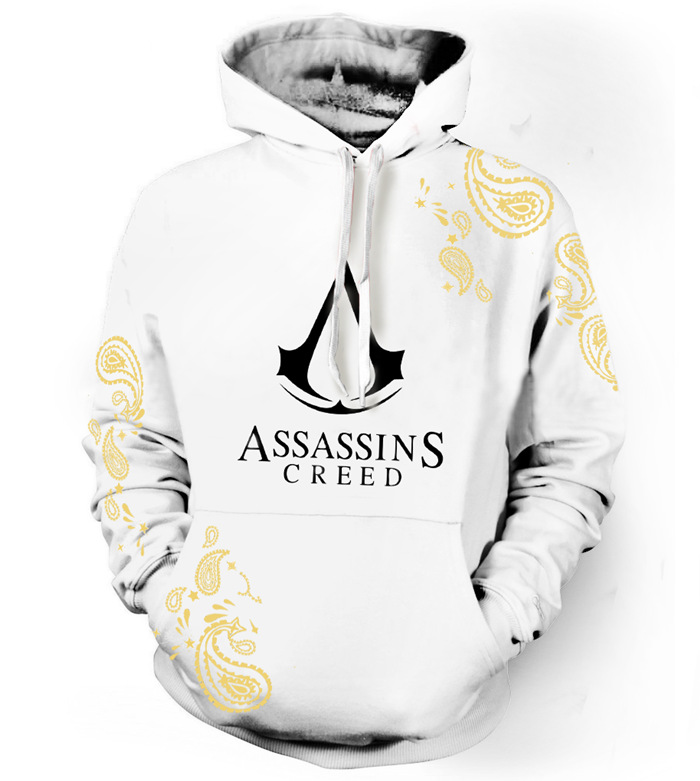 2017 fashion assassins creed hoodie men casual pullover. Black Bedroom Furniture Sets. Home Design Ideas