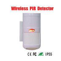 Free Shipping Outdoor Wireless 4 Element Pet Immunity PIR Passive Infrared Intrusion Motion Detector IP65 Waterproof