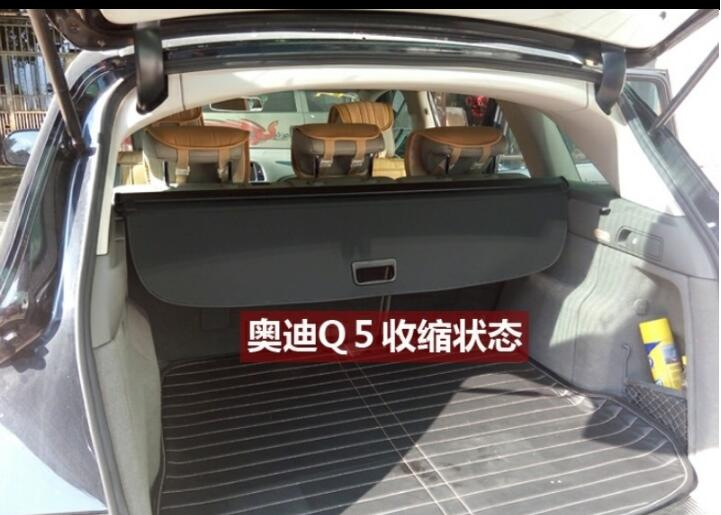 JIOYNG Car Rear Trunk Security Shield Shade Cargo Cover For AUDI Q5 2007 2008 2009 / 2010 2011 2012 2013 2014 2015 2016 2017 partol black car roof rack cross bars roof luggage carrier cargo boxes bike rack 45kg 100lbs for honda pilot 2013 2014 2015