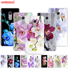 HAMEINUO Orchid Flowers Colorful Cover phone Case for