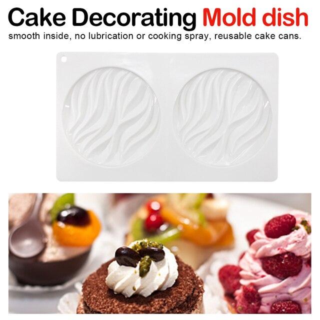 Bakken Tools voor Gebak Mousse Schimmel Siliconen Mallen voor 3D Ambachten Keuken Bakken Cake Decorating Mold 3D Siliconen Mal