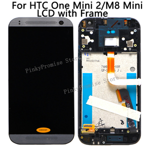 Image 1 - LCD For HTC One Mini 2 Display Touch Screen Digitizer with Frame for HTC One Mini 2 LCD M8 Mini Display Replacement