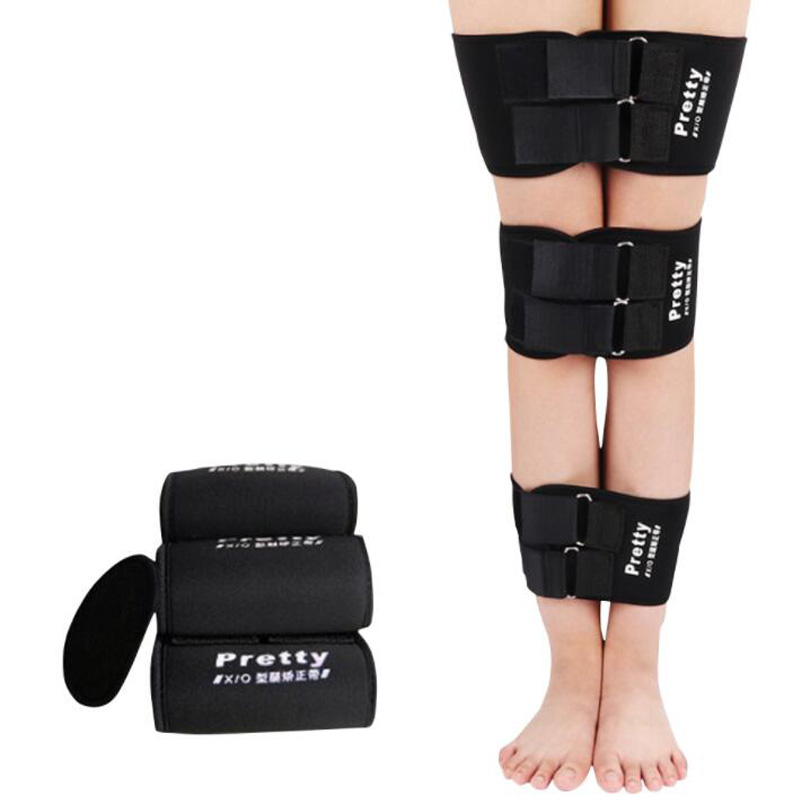 3pcs/set Effective O/X Type Legs Bowed Leg Knee Posture Available All Day Straightening Correction Posture Corrector Leg Band