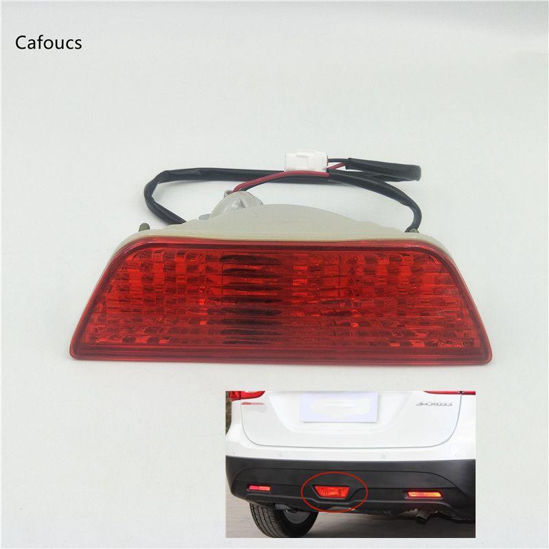 Car Accessories Rear Bumper Lights Tail Fog Lamps For Suzuki SX4 S Cross Swift Sports 2013 2018