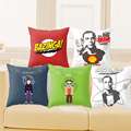 Cushion Cover The Big Bang Theory Pillowcase Polyester&Cotton Cartoon Chair Seat Home Decorative Throw Pillow