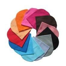 Детская шапка ярких цветов для маленьких мальчиков и девочек; хлопковая теплая мягкая вязаная шапка; милая Шапка; шапочка; подходит для От 7 месяцев до 3 лет; S2