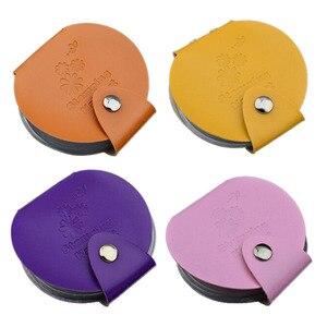 Image 1 - 24 ranuras de cuero Pu placas de estampado para manicura estuche bolsa carpeta sello de uñas soporte de plantilla plantillas bolsas álbum almacenamiento