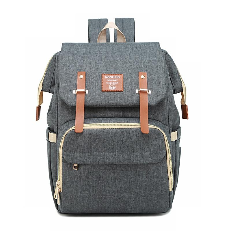 Sac à langer sac à dos avec Interface USB grande capacité sac étanche pour maman bébé Modish loisirs voyage soin 3 en 1 sac poussette