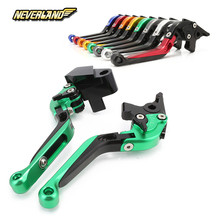 For Kawasaki VERSYS (650cc) 2009 2010 2012 2013 2014 Motorcycle Adjustable Folding Extendable Brake Clutch Levers цены
