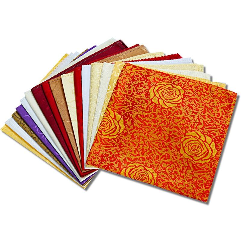 New Style 10 Pcs/Set Wedding Table Napkins 48*48cm Cloth Napkins Handkerchief Wedding Table Decoration Home Textile 8 Colors
