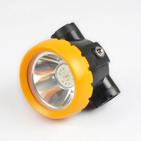10pcs Cordless Led Cap Headlamp 3W For Hunting Mining Camping Light Free Shipping BK2000