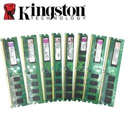 Kingston Desktop PC Memory RAM Memoria Module DDR2 800 667 MHz PC2 6400 1GB 2GB 4GB 8GB  DDR3 1333 1600 MHz PC3-12800 10600