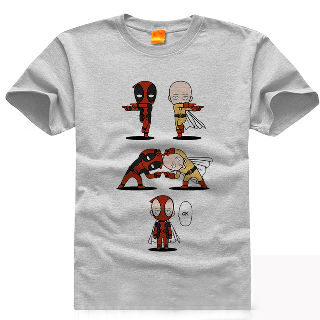 Xhtwcy Top Cool Deadpool T Shirt Lustige Todesspiel T Shirt Mode