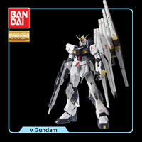 BANDAI MG 1/100 RX 93 Nu Gundam v Gundam Effects Action Figure Model Modification