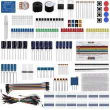 Keywish Electronic Component Base Fun Kit For Arduino Raspberry Pi Bundle With B