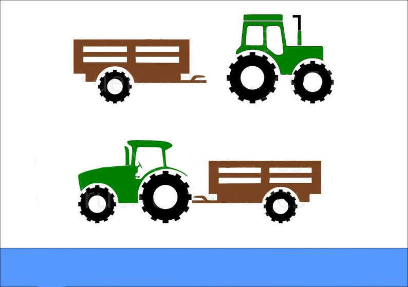Pertanian Traktor dengan Trailer 105*62 Mm Metal Cutting Dies Scrapbooking untuk Pembuatan Kartu DIY Embossing Stensil Pemotongan Baru kerajinan Mati 2019