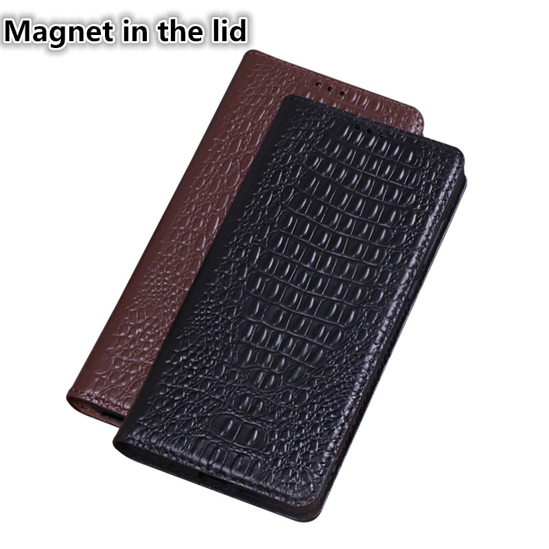 QH01 Genuine leather magnet phone case for Motorola Moto Z2 Play case for Motorola Moto Z2 Play flip case with kickstand