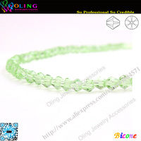 Free Shipping 720pcs Lot AAA Top Quality 5301 Bicone Beads 3mm Peridot Crystal Bead Loose Spacer