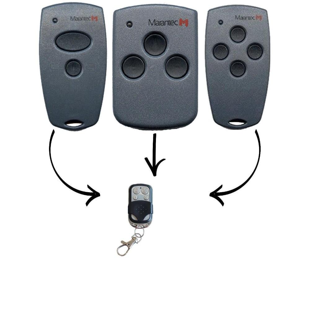 Marantec d302/d304/d313 compatível garagem/portão remoto digital/conforto cloner código fixo 433.92mhz para alarme de carro...