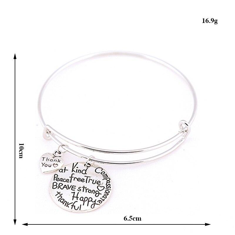 7cce94028cf8 Venta 1 unid popular pulsera de plata amor afecto parejas aolly joyería 5  estilos regalo en Brazaletes de puño de Joyería y accesorios en  AliExpress.com ...