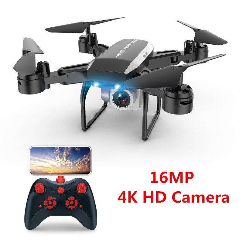 Profissional 4 K HD Câmera Quadrocopter Drone Com Câmera HD De Fluxo Óptico Posicionamento Altitude Hold Quadcopters RC Helicóptero FPV