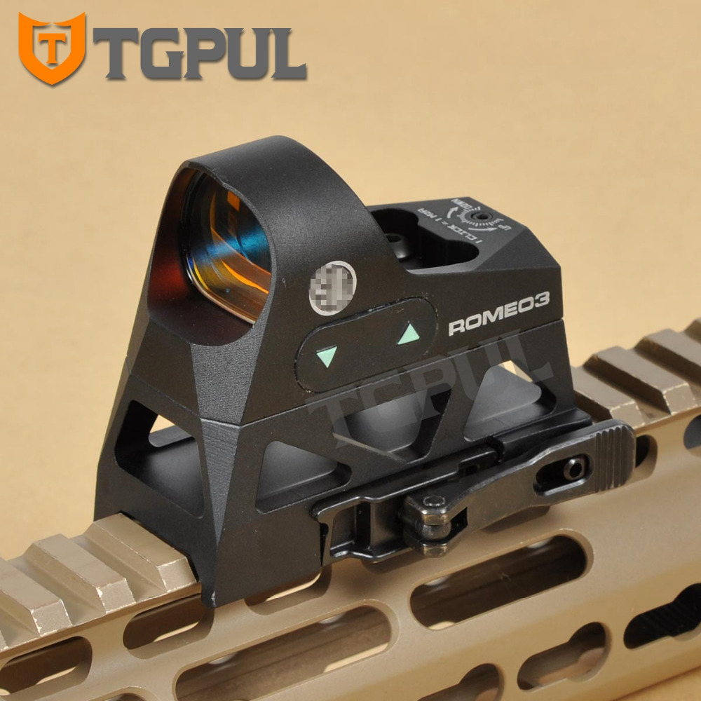 Tactical Micor Mini 1x25 Tactical Hunting Scopes Rifle Reflex Sight 3 MOA Red Dot Shockproof Firearm Shot with Picatinny Mount tactical mini micro reflex red