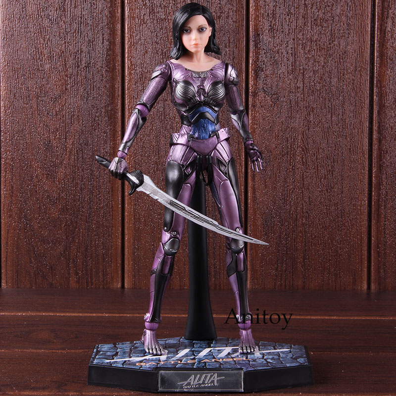 Image 2 - Alita Action Figure Legend Creation Alita Battle Figure 1/6 Scale Alita Figure PVC Collectible Model Toy 25.5cmAction & Toy Figures   -