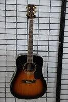 Бесплатная доставка импорт акустической гитары, сделано в Китае Гитары Sunburst