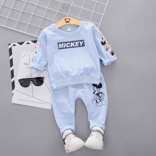 New Casual Sports T-shirt Pants 2pcs/Set Outfit Tracksuits 1
