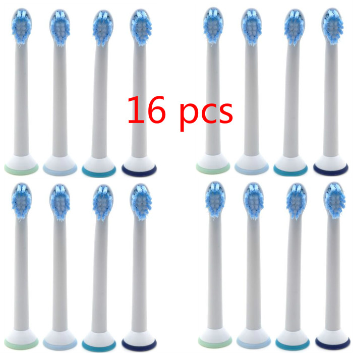 16pcs Replacement Toothbrush Heads for Philips Sonicare Mini ProResult HX6084 Electric Tooth Brushes Head Wholesale image
