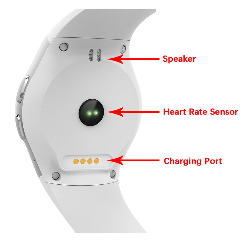 Kingwear KW18 SIM Card Smart Watch Waterproof Heart Rate